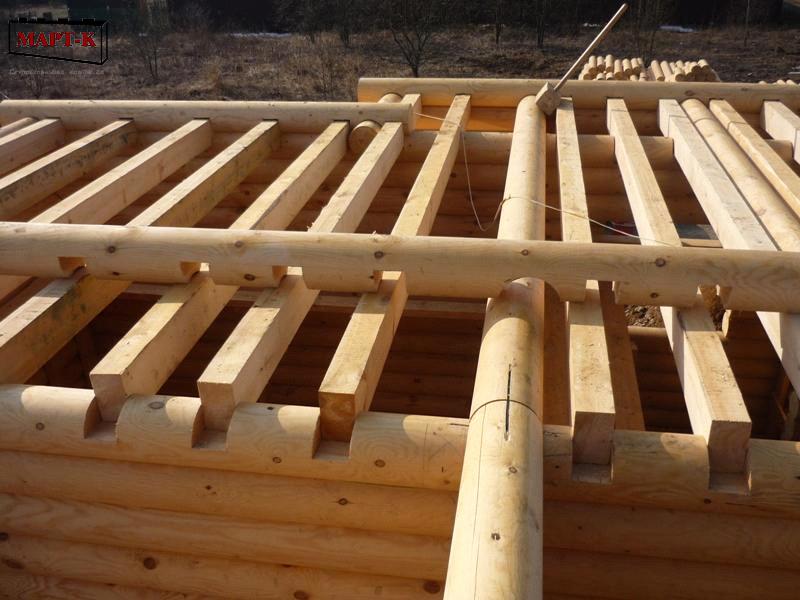 Как сделать перекрытие второго этажа в брусовом доме