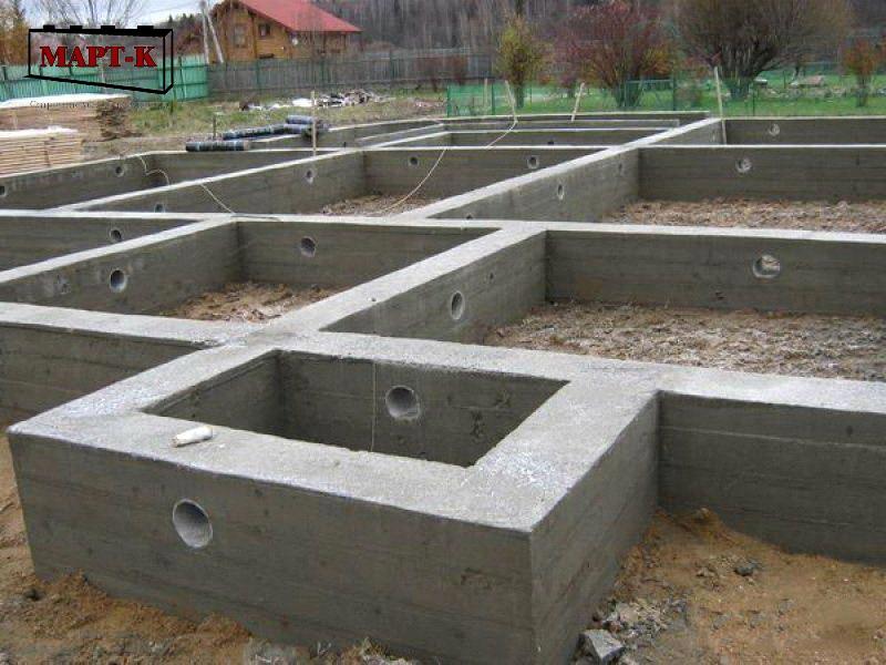 ленточный монолитный фундамент для загородного дома термобелье
